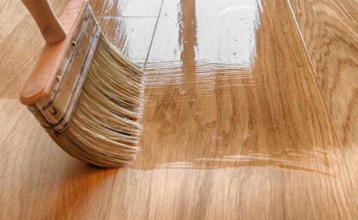 Applying Blanchon oils for wooden floors
