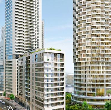 Building Wood Wharf for Canary Wharf   Case Study