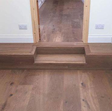 Installing Wood Flooring in a Hallway   Case Study