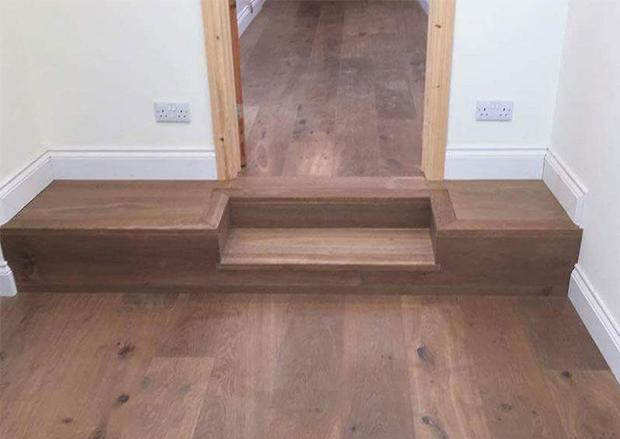 Installing Wood Flooring in a Hallway