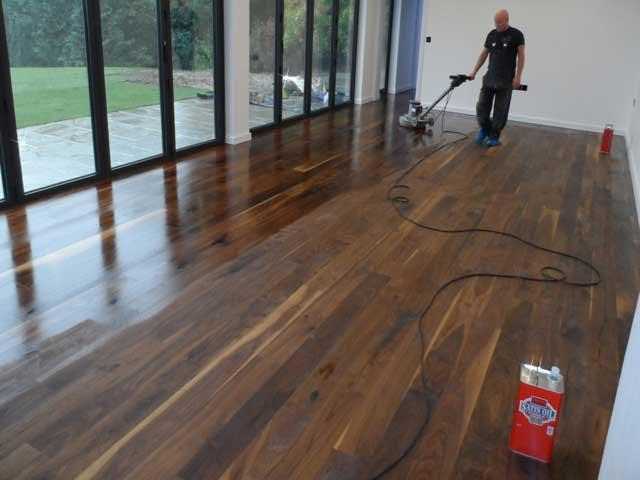 Enhancing Oiled Walnut Flooring