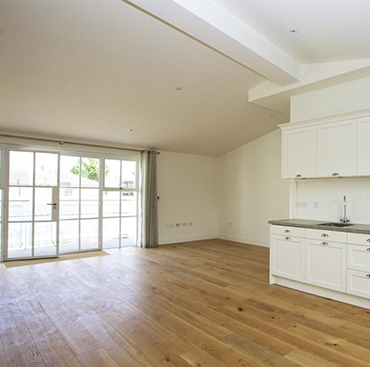 Brushed Lacquered Oak in a Home
