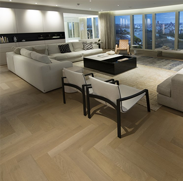 Parquet Panels in the South Bank Tower, London