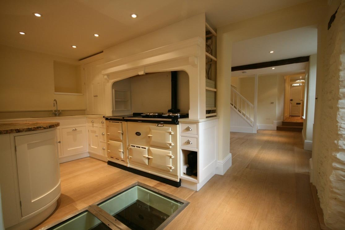 Unfinished Oak in a Cotswolds Home