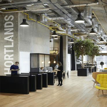 Shortlands Office Refurbishment in Hammersmith London   Case Study