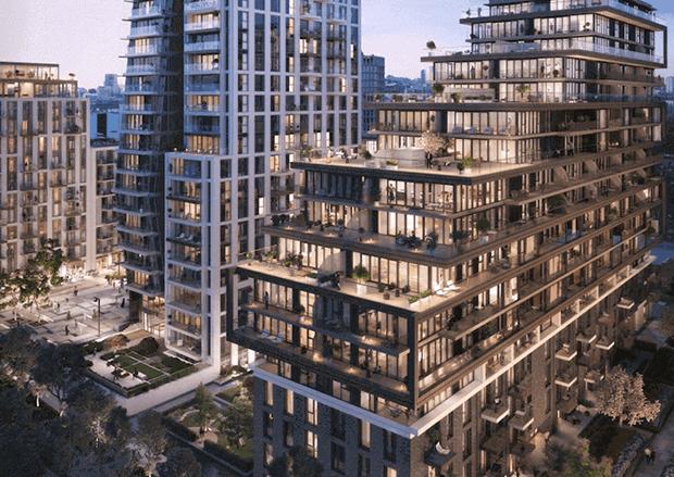 London Dock St Georges Development
