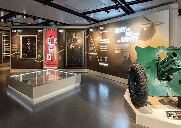 Army Museum London | Case Study