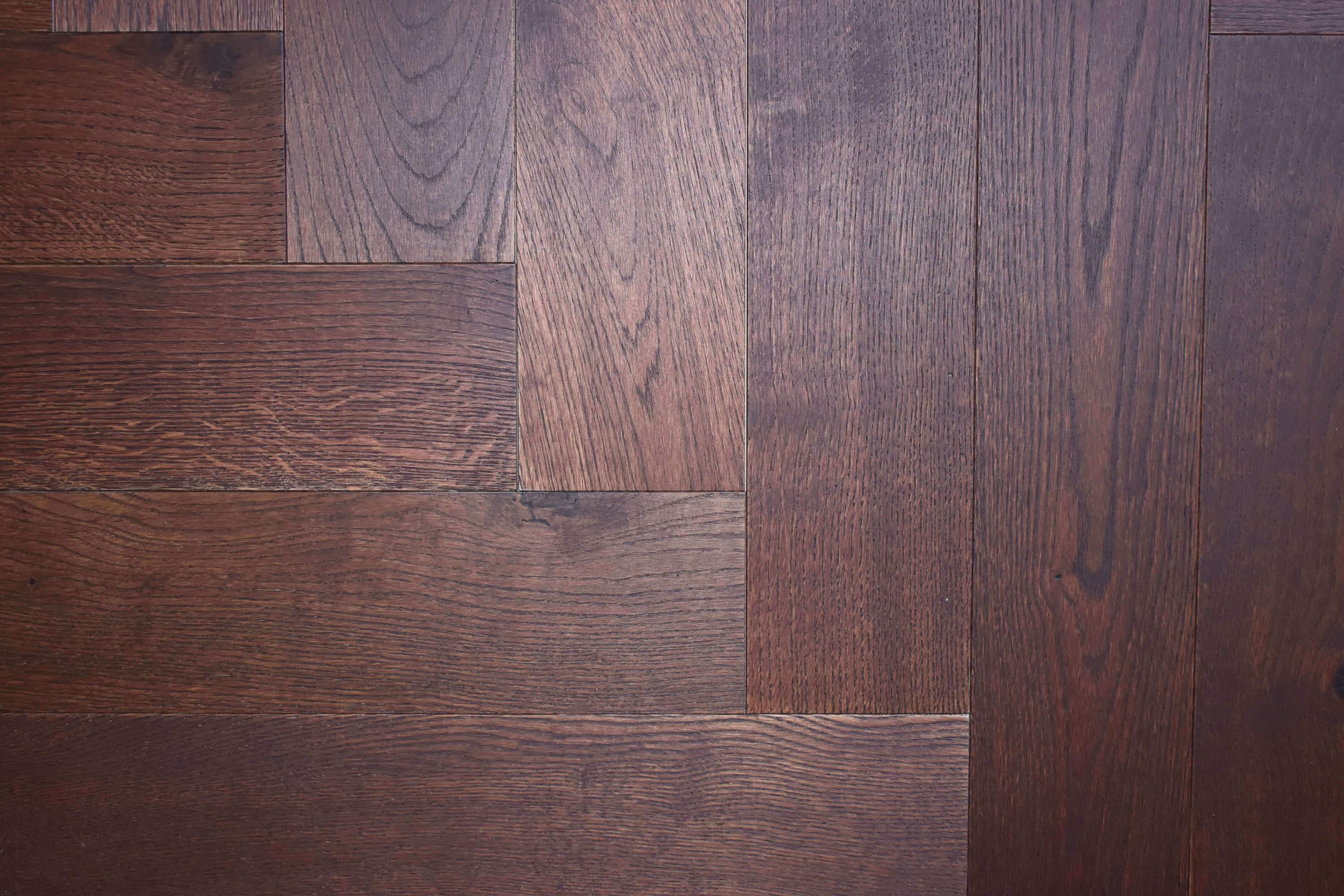 Herringbone Flooring In Private Country Home