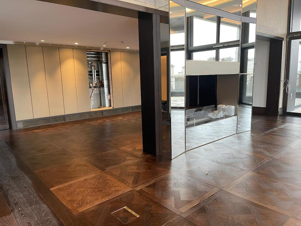 Bespoke Oak Versailles Parquet Flooring