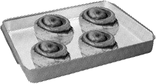 Remove icing packet from underneath rolls. Place frozen rolls with their paper tray on a rimmed baking sheet. DO NOT THAW OR DISPOSE OF PAPER TRAY.