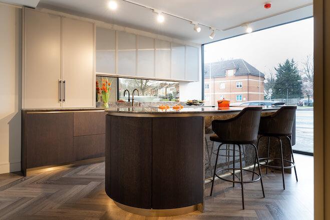 Impervia Flooring In Bespoke Kitchens - Case Study
