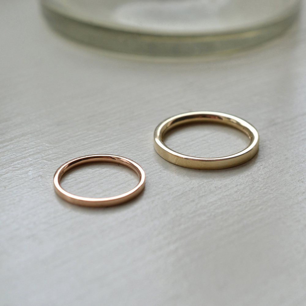 we make your ring to order to fit you perfectly. You can choose between the precious metals gold, rose gold, white gold and platinum