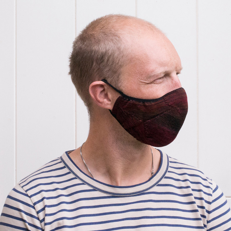 """Exactly the kind of face mask I was looking for; comfy, looks great and I can actually breath in it! Will definitely suggest to friends."" <em>Will</em>"