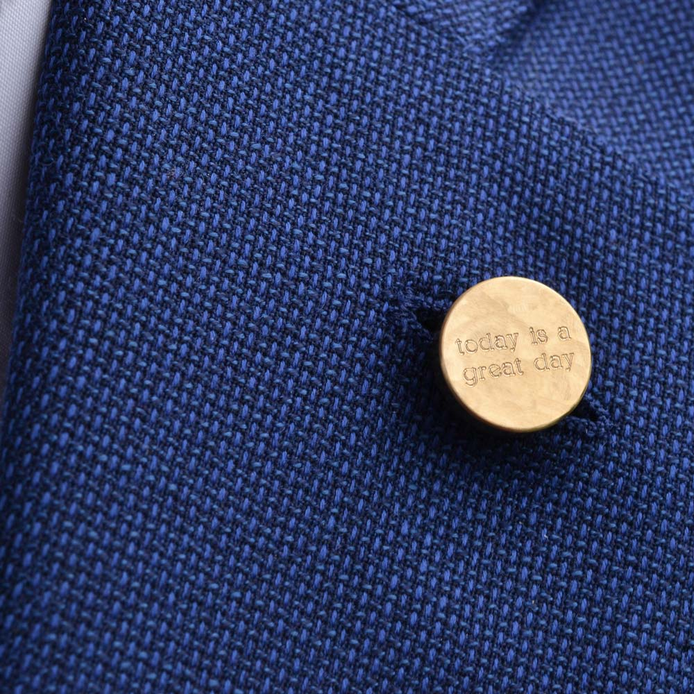 Get creative with our lapel pins and bring out your inner poet!