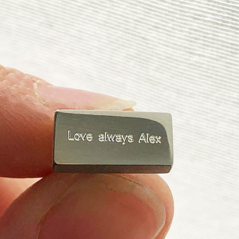 Make it meaningful! Complimentary engraving on all jewellery with 'engrave me' on.