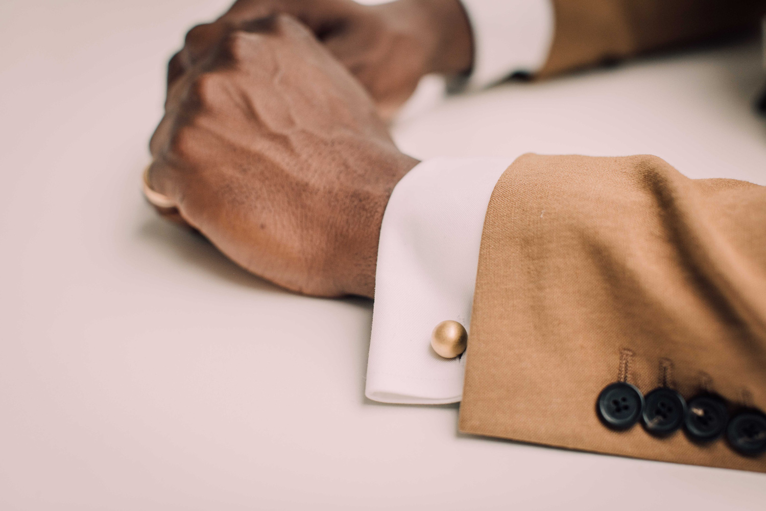 """""""The Grafton cufflinks are so unique. They are so chic and impactful."""" <em>Jennifer</em>"""