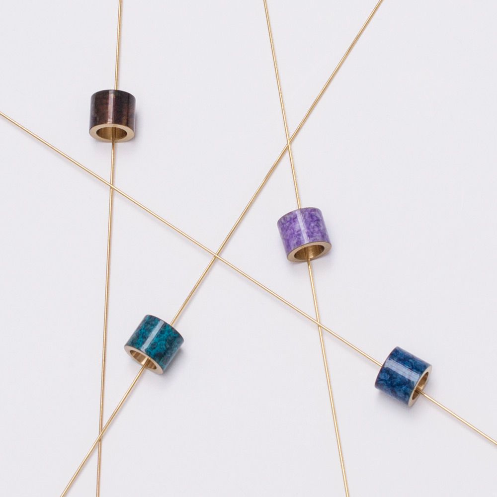 Jewellery inspired and informed by the ancient art of patina and the science of natural patination.