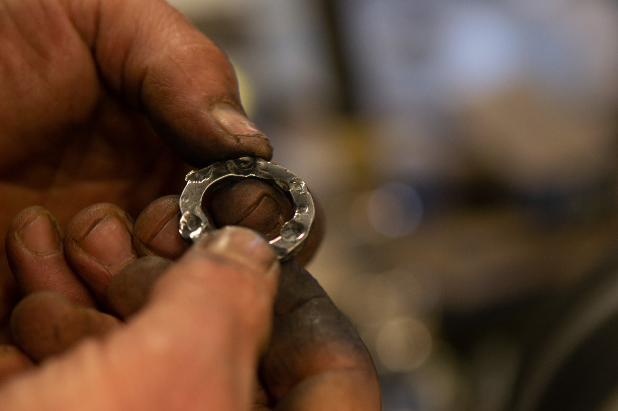 Each piece is individually hand forged, cleaned and polished by our expert blacksmiths.