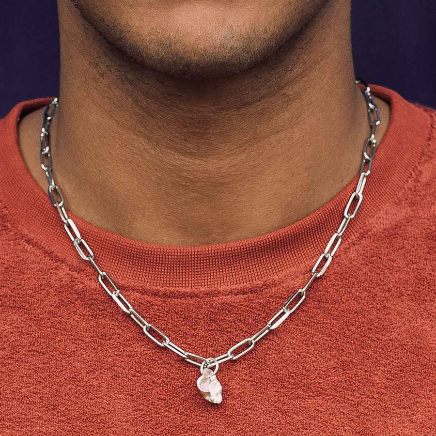'Best mens necklace! Simple, crafted and effortless' <em>Recommended by GQ</em>
