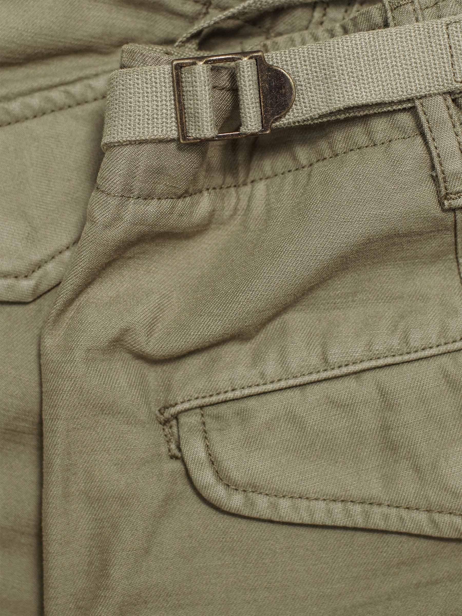 Buck Mason - Black Stone Twill Desert Cargo Pant