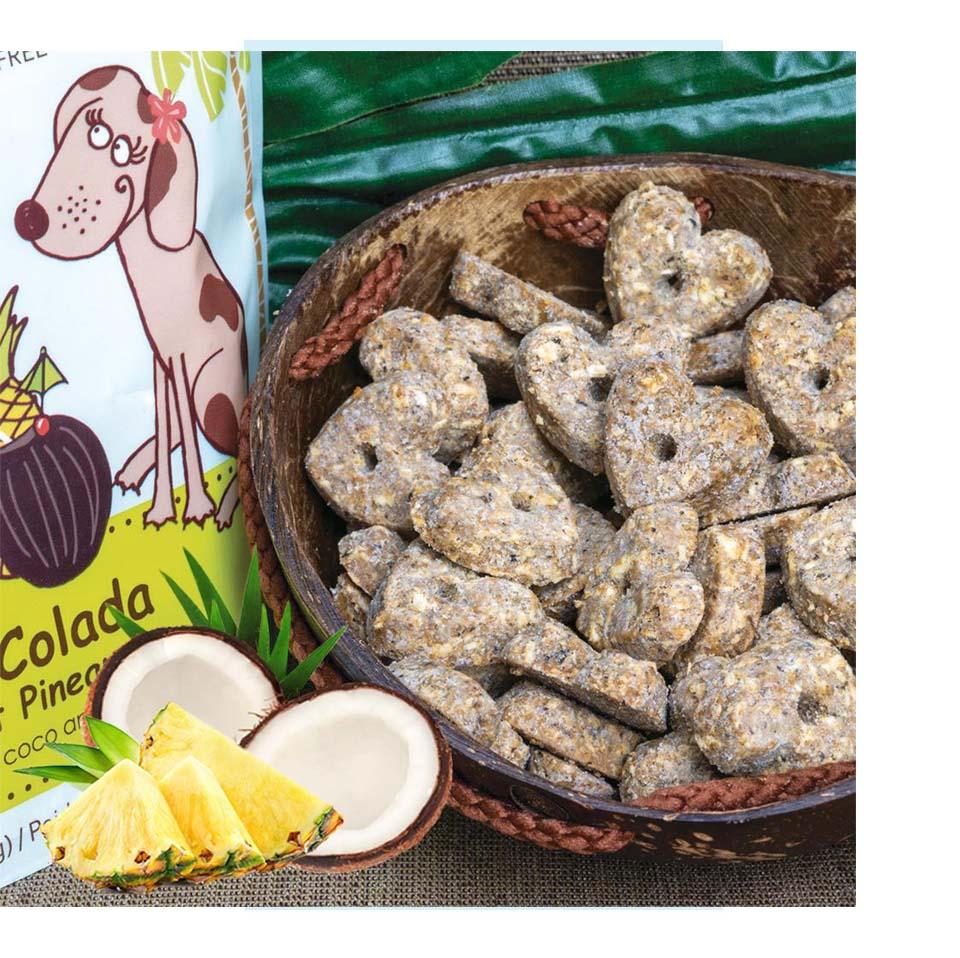 CocoTherapy Piña Colada Coconut Cookies