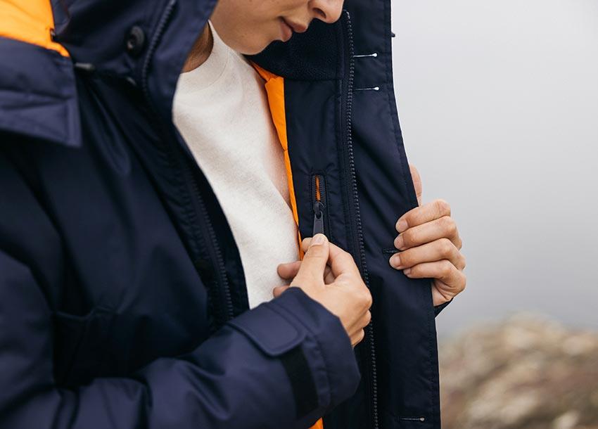 Internal Zipped Pocket