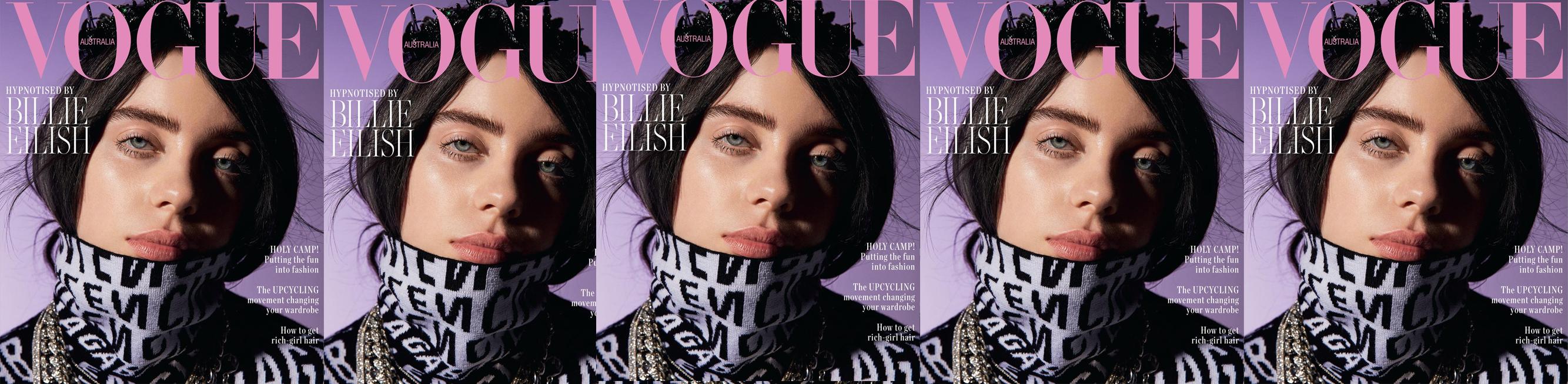 Vogue Australia - Billie Eillish in J Farren-Price Diamonds article hero image