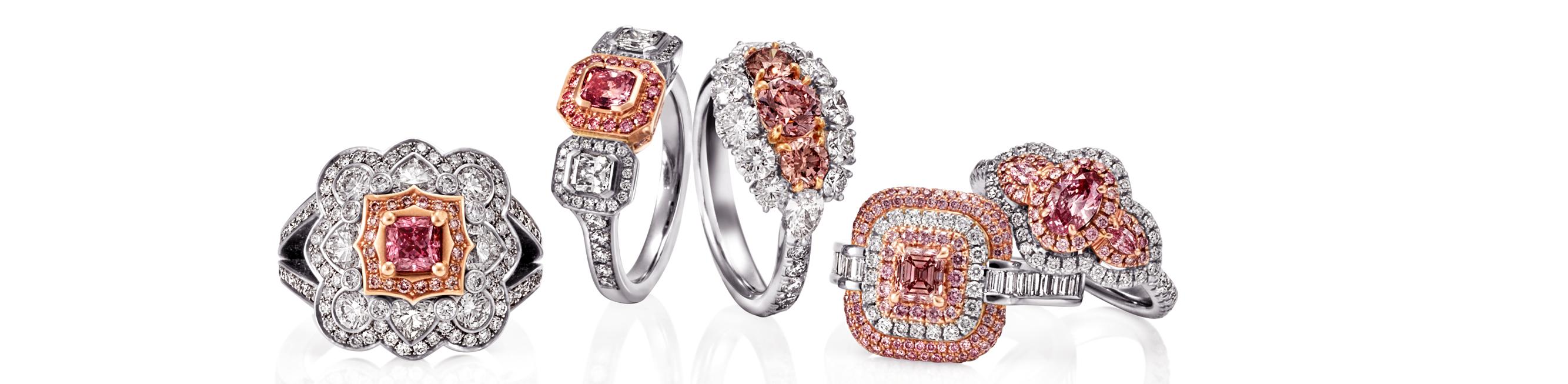Stunning New Argyle Pink Diamond Rings - November 2020 News article hero image