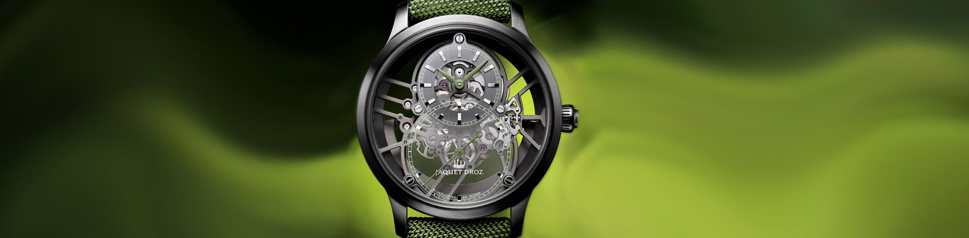 JAQUET DROZ NOVELTY ARRIVALS - MARCH 2021 NEWS article hero image