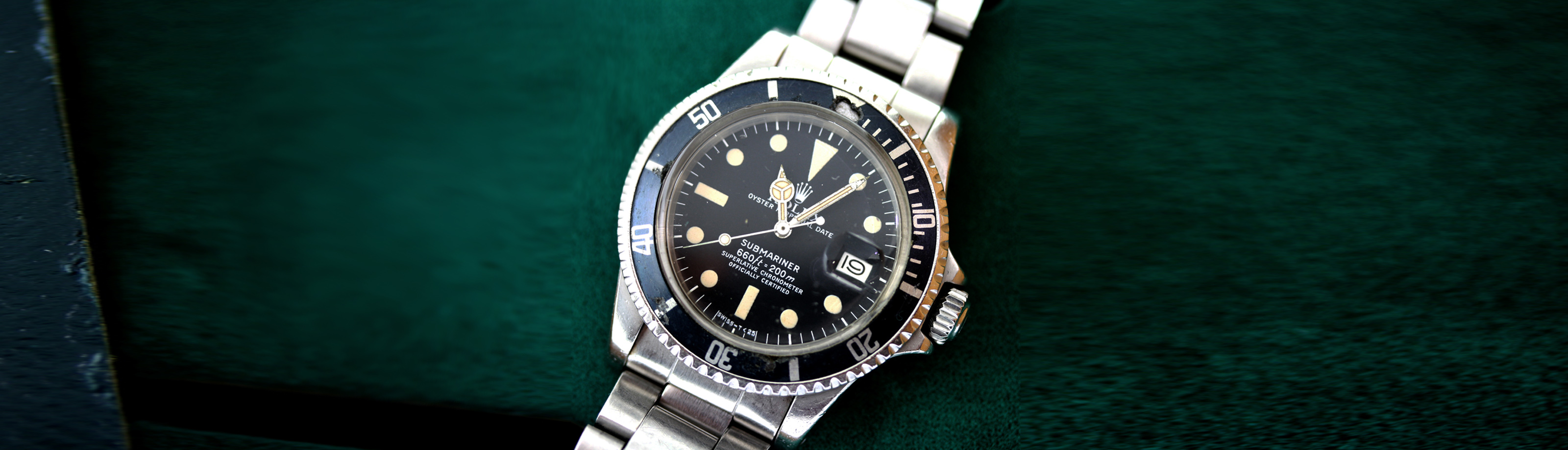 AN ORIGINAL NAVY DIVER'S ROLEX SUBMARINER FROM 1976 - MARCH 2021 NEWS article hero image