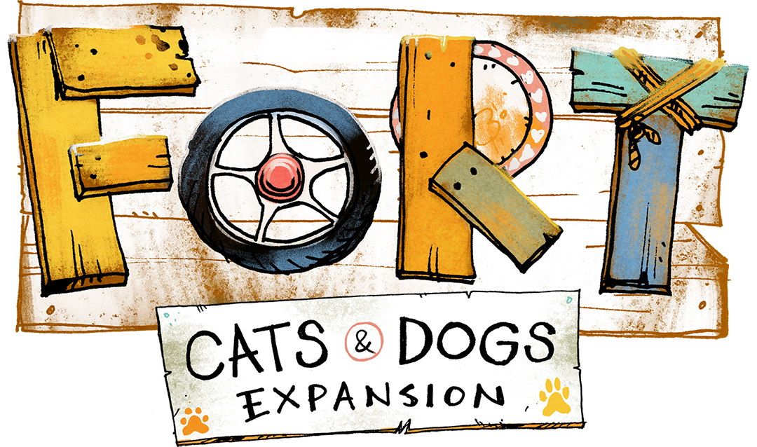 [PRE-ORDER] Fort: Cats & Dogs Expansion