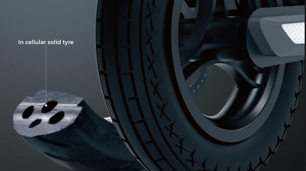 Reid E4 Plus E-Scooter Puncture Proof Tyres
