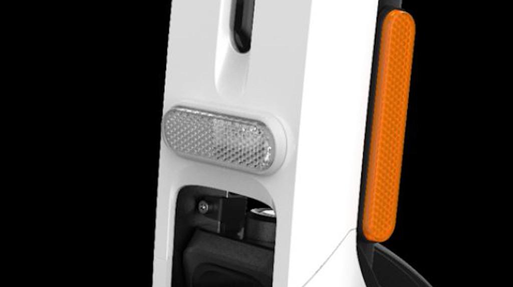Segway Ninebot Kickscooter Air T15E integrated led lights E-Mark reflectors