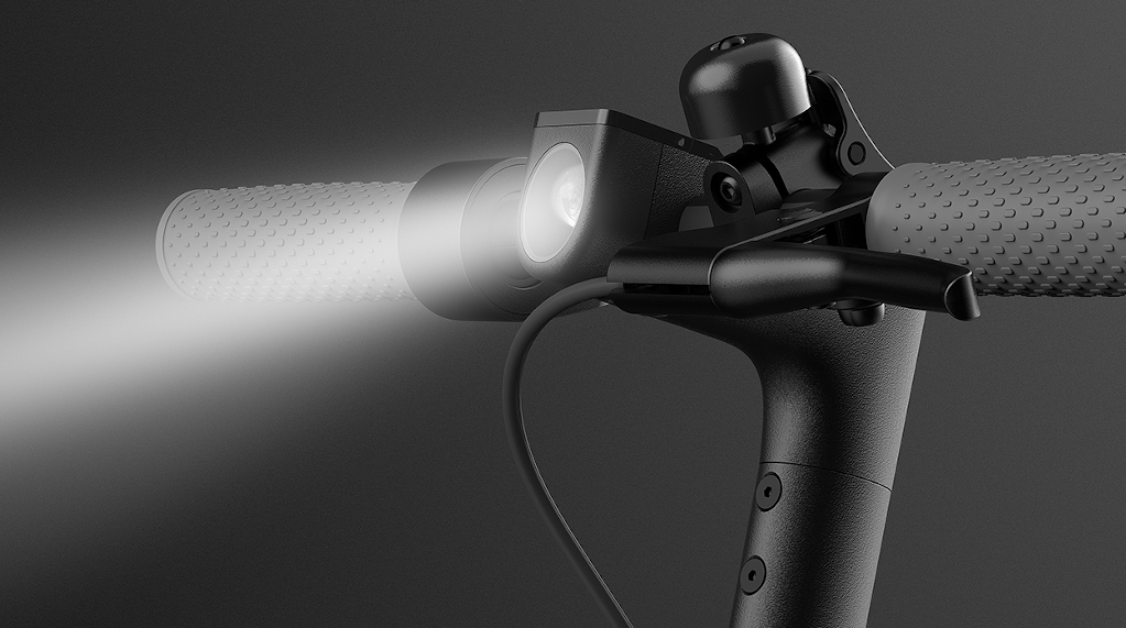 Xiaomi Mi electric Scooter 1S Ultra-bright LED