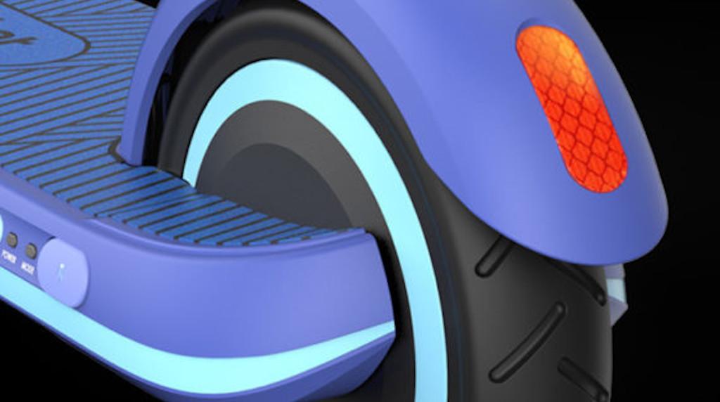 Segway-Ninebot Zing E8 Electric Scooter 3M Reflective Sticker