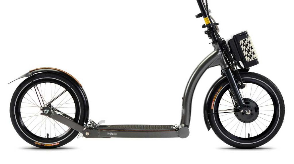 SwiftyONE-e Electric Scooter large 16 inch tyres