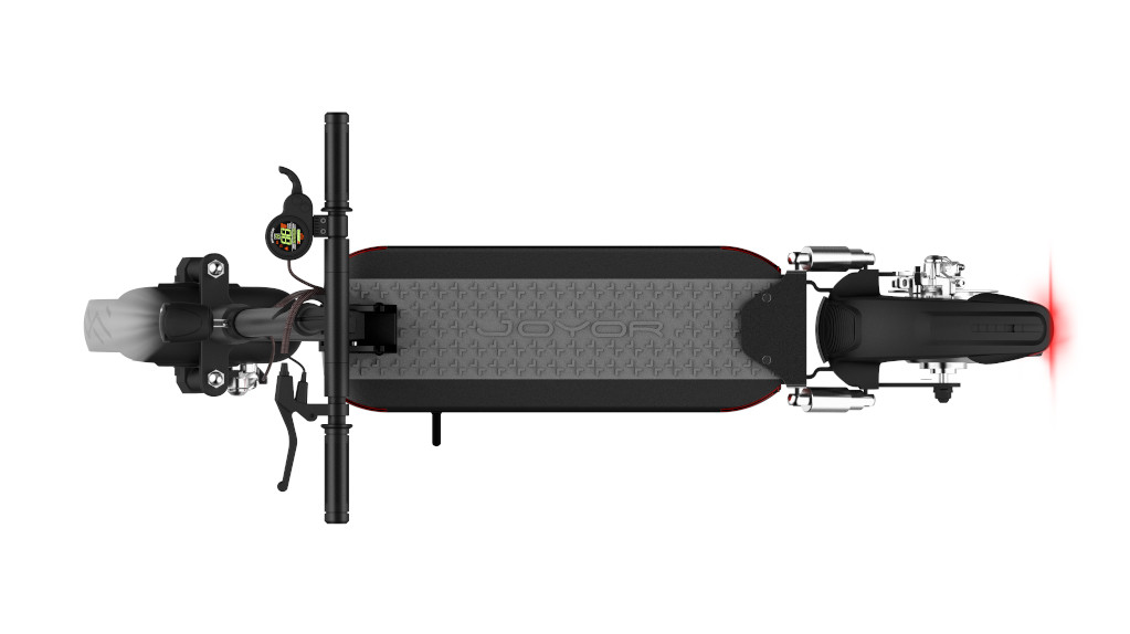 Joyor Y5S Electric Scooter with wide deck