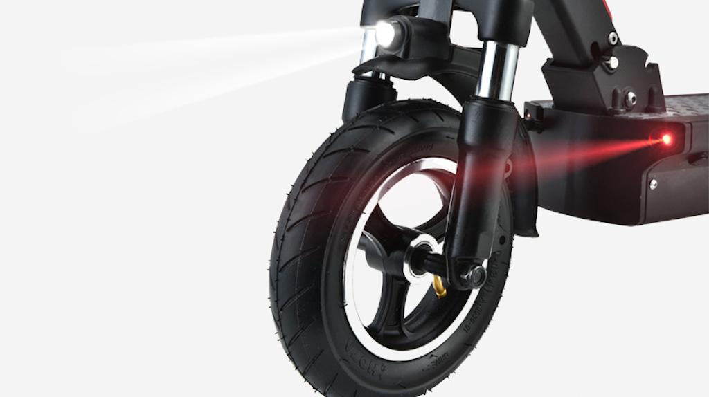 Joyor G5 E-Scooter LED lights