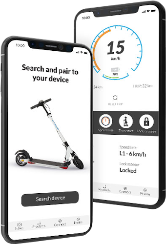 E-TWOW Connect Bluetooth App