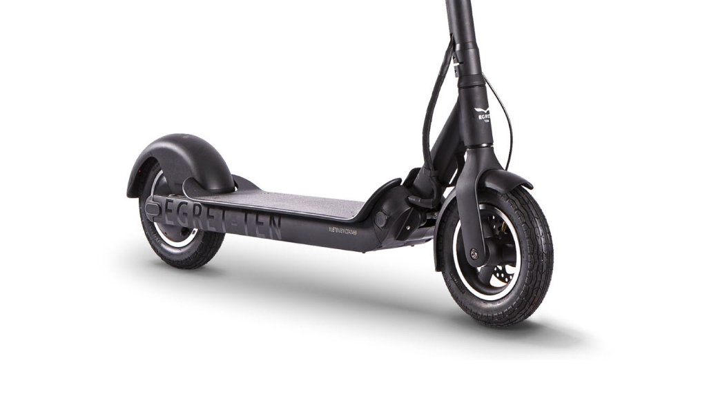 EGRET-TEN V3 X with 10 inch air-filled tyres