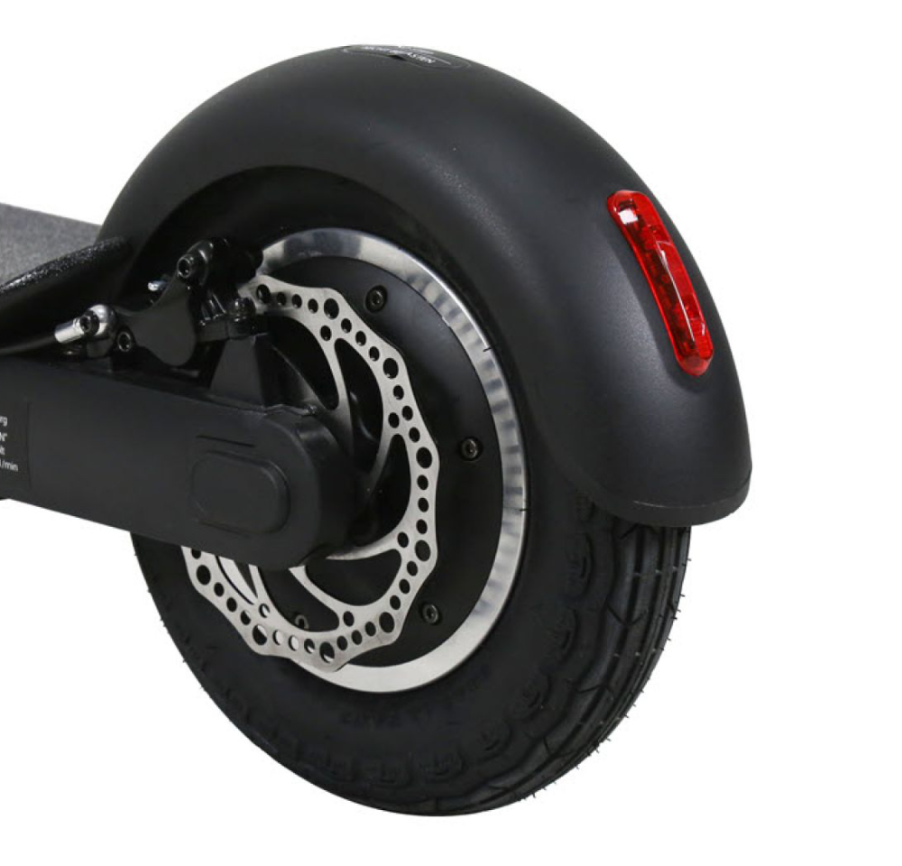 EGRET-TEN V3 X with dual disc brakes