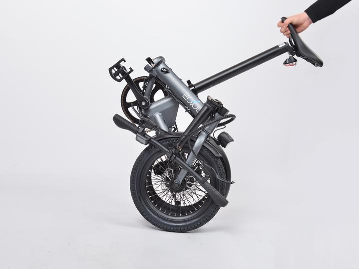 Eovolt Confort Electric Bike Fold & go system