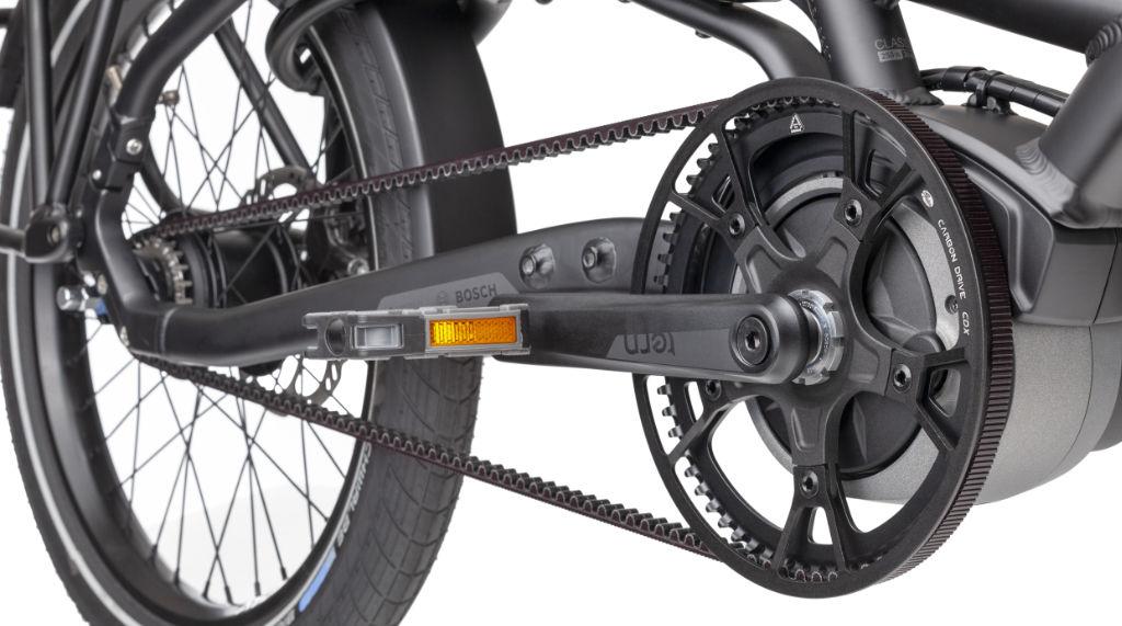 Tern HSD S8i E-Bike Gates Belt Drive