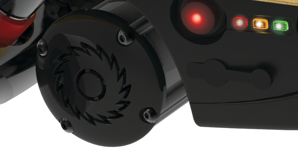 RazorX Cruiser Electric Skateboard with soft-start technology