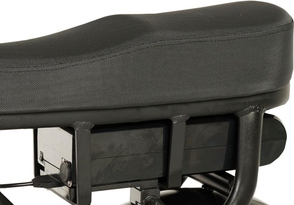 Knaap AMS Space Grey Edition E-Bike Two-Seater Seat Base