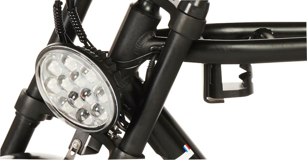 Knaap AMS Space Grey Edition E-Bike 1200 Lumen LED Headlight