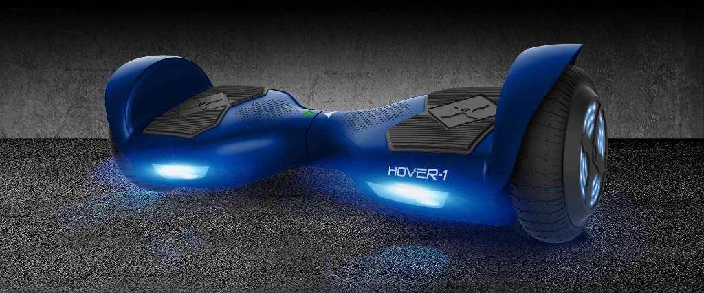 Hover-1 Helix Hoverboard built-in led lights