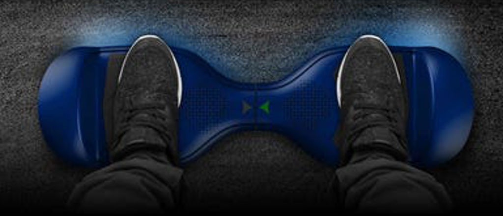 Hover-1 Helix Hoverboard non-slip rubber grip