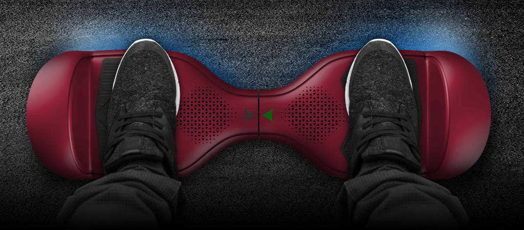 Hover-1 Helix Hoverboard non-slip rubber deck