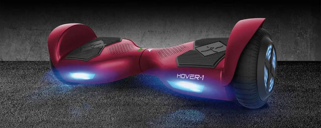 Hover-1 Helix Hoverboard built-in super-bright LED lights